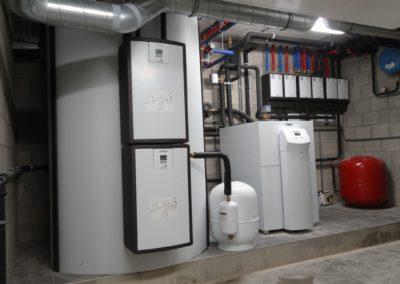 Warmtepomp installatie Kessel