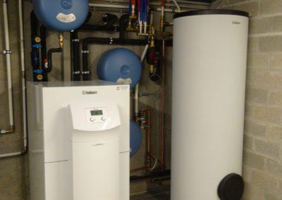 Warmtepomp installatie te Wommelgem