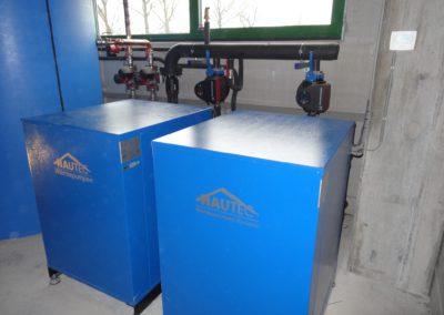 Warmtepomp installatie bedrijfshal Turnhout