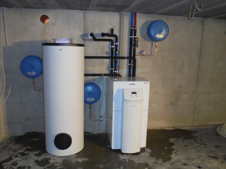 Warmtepomp in open bebouwing te Olen 2