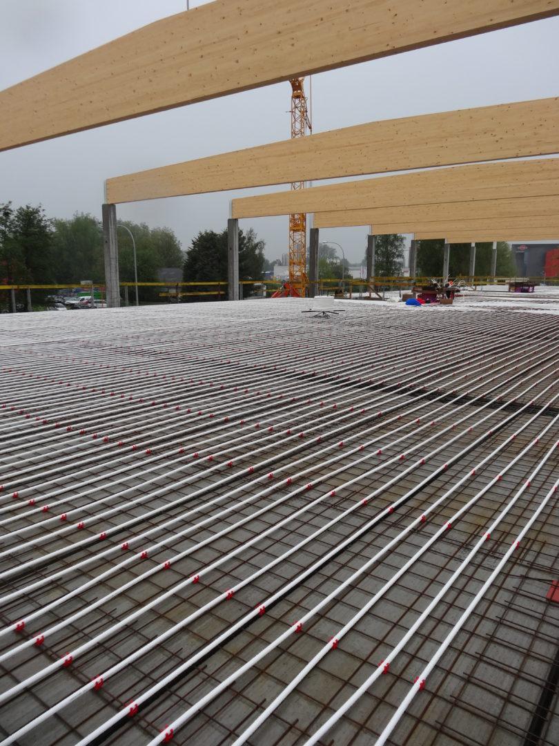 Vloerverwarming project Barto Turnhout